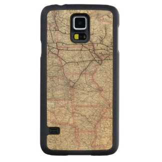 Chicago Milwaukee and St Paul Ry and connections Carved Maple Galaxy S5 Case