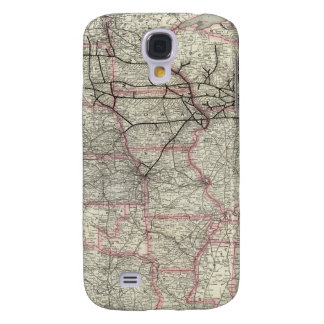 Chicago Milwaukee and St Paul Ry and connections Galaxy S4 Case