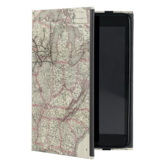 Chicago Milwaukee and St Paul Ry and connections iPad Mini Case