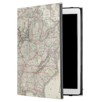 """Chicago Milwaukee and St Paul Ry and connections iPad Pro 12.9"""" Case"""