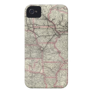 Chicago Milwaukee and St Paul Ry and connections iPhone 4 Case