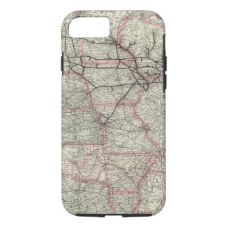 Chicago Milwaukee and St Paul Ry and connections iPhone 8/7 Case