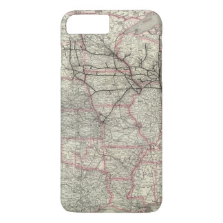 Chicago Milwaukee and St Paul Ry and connections iPhone 8 Plus/7 Plus Case