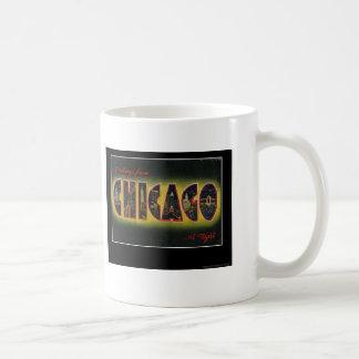 chicago basic white mug