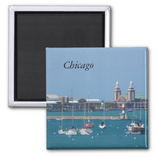 Chicago Navy Pier Magnet