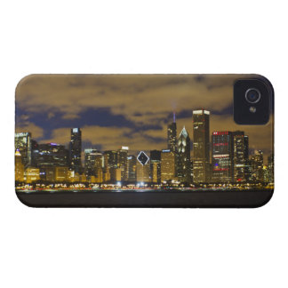 Chicago Night Skyline iPhone4 Case iPhone 4 Case-Mate Cases