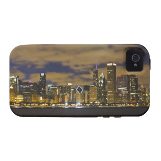 Chicago Night Skyline iPhone4 Case iPhone 4 Cases
