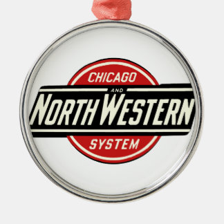 Chicago & Northwestern Railroad Logo 1 Christmas Ornament