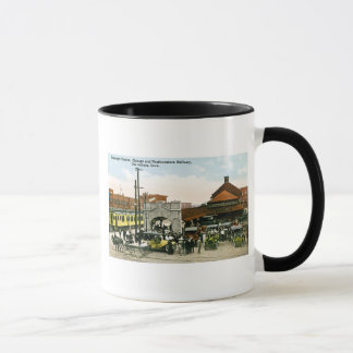 Chicago & Northwestern Railway, Des Moines, Iowa Mug