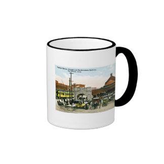 Chicago Northwestern Railway Des Moines Iowa Mugs
