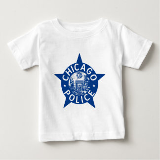 Chicago Police VINTAGE STAR Baby T-Shirt