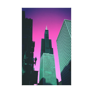 Chicago Poster Canvas Print