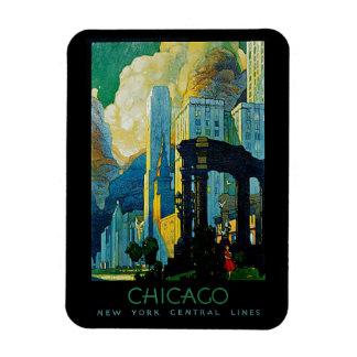 Chicago Rectangular Photo Magnet
