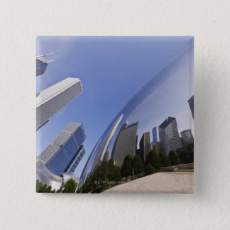 Chicago Reflections 15 Cm Square Badge