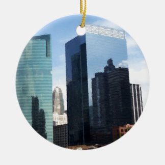 Chicago Reflections Christmas Ornament