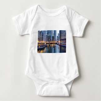 Chicago reflects baby bodysuit