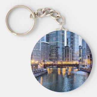 Chicago reflects key ring