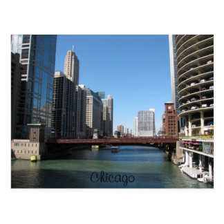 Chicago River Postcard