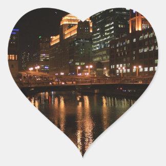 Chicago River Sticker