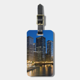 Chicago Riverfront Luggage Tag