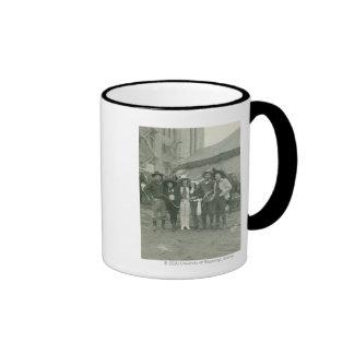 Chicago Rodeo, 1929. Coffee Mugs