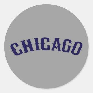 Chicago Round Sticker