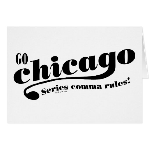 Chicago Rules Greeting Cards