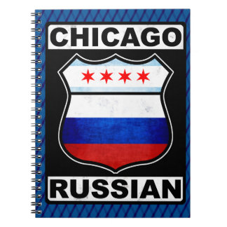 Chicago Russian American Notepad Notebook