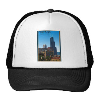 Chicago - Sears Tower Trucker Hats