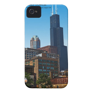 Chicago - Sears Tower iPhone 4 Case-Mate Case