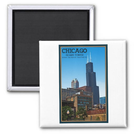 Chicago - Sears Tower Magnets