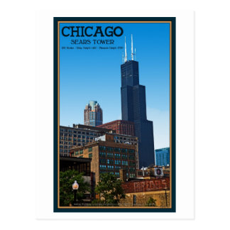 Chicago - Sears Tower Postcard