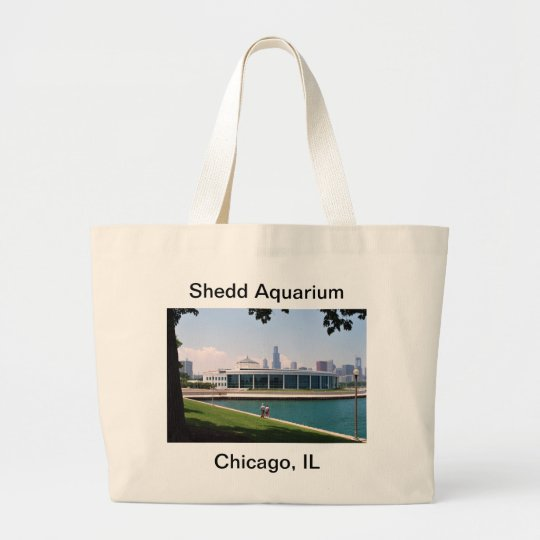 Chicago Shedd Aquarium collection Large Tote Bag