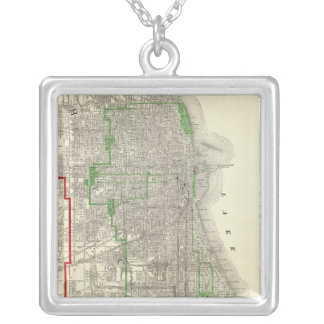 Chicago Silver Plated Necklace