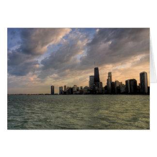 Chicago Skyline 2 Card