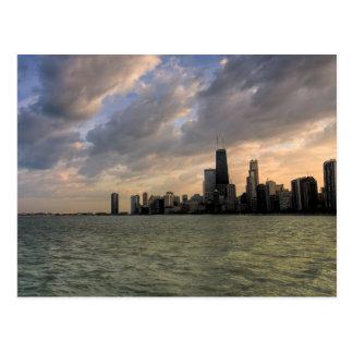Chicago Skyline 2 Post Card