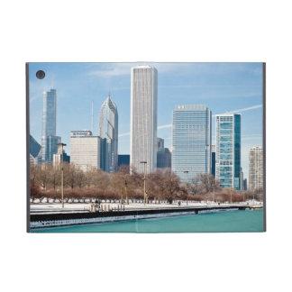 Chicago skyline across frozen Lake Michigan iPad Mini Cover