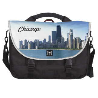 Chicago Skyline Across the Lake Commuter Bags