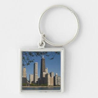 Chicago skyline and Lake Michigan, Lake Shore Keychains