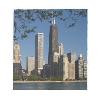 Chicago skyline and Lake Michigan, Lake Shore Notepad