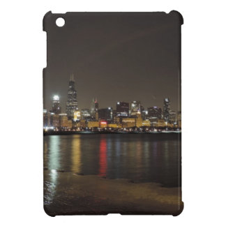 Chicago Skyline at Night iPad Mini Covers
