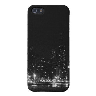 Chicago Skyline at night - iPhone5 Matte Case iPhone 5 Cases