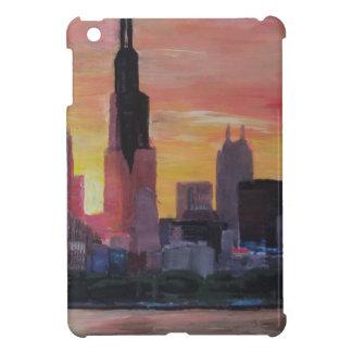 Chicago Skyline at Sunset iPad Mini Covers
