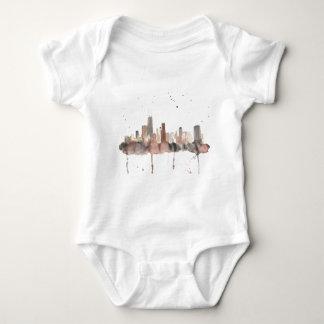 Chicago Skyline Baby Bodysuit