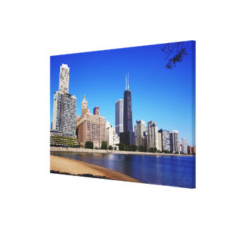 Chicago Skyline. Canvas Print