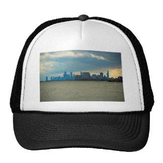 Chicago skyline. mesh hat