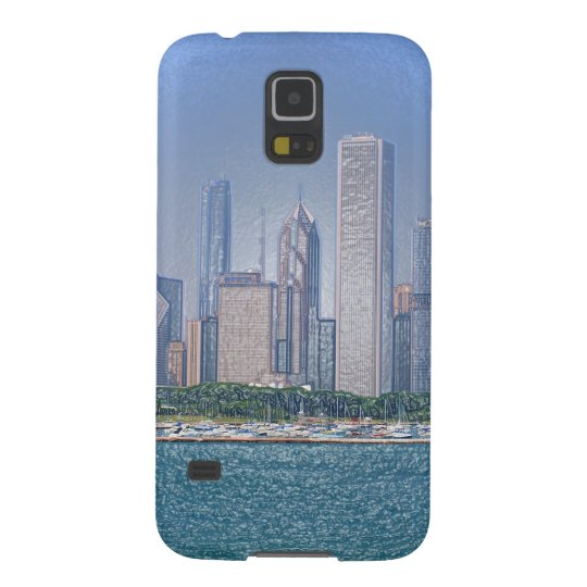 Chicago Skyline Cases For Galaxy S5