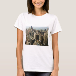 Chicago Skyline from Sears now Willis Tower T-Shirt