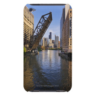 Chicago Skyline from the Kinzie St Bridge iPod Case-Mate Case
