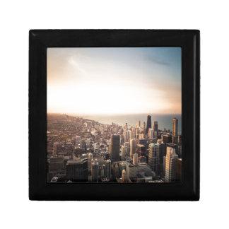 Chicago skyline gift box